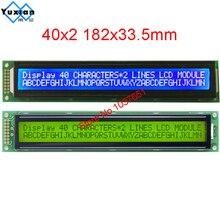 Módulo LCD con pantalla de caracteres, 40x2, 4002, 4002A, LC4021, en lugar de HD44780, WH4002A, AC402A, LMB402C