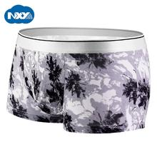 NXY Brand Mens Underwear Boxer Printed Elastic Modal Underpants U convex Male Boxers Breathable Shorts Boxer Calzoncillo Hombre