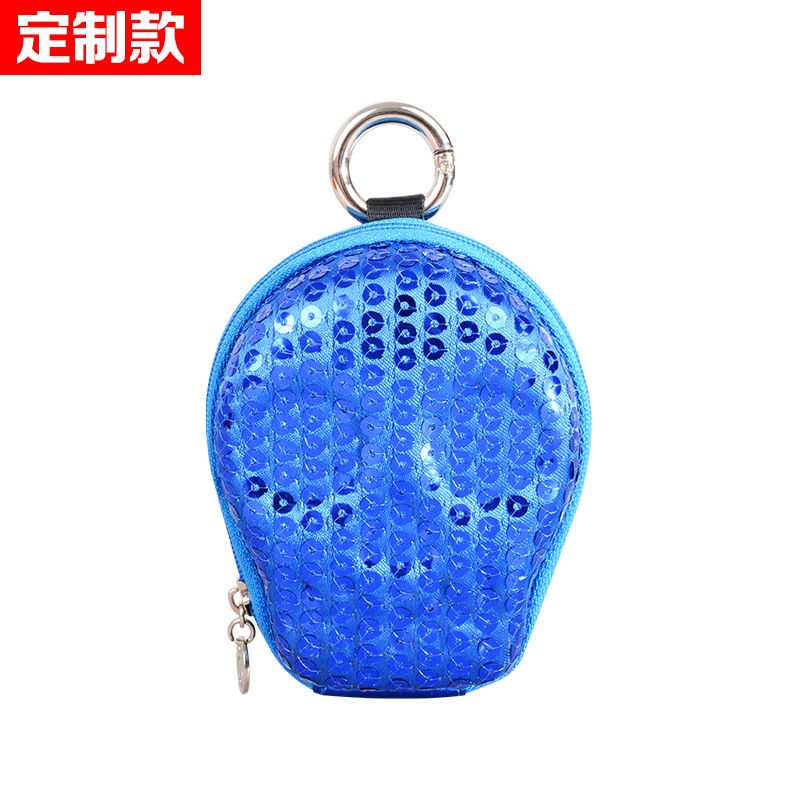 Senkey Style New Style Key Skull Purse Sequin Body Hugging Xiao Gua Bao Trend Coin Bag Small Waist Pack