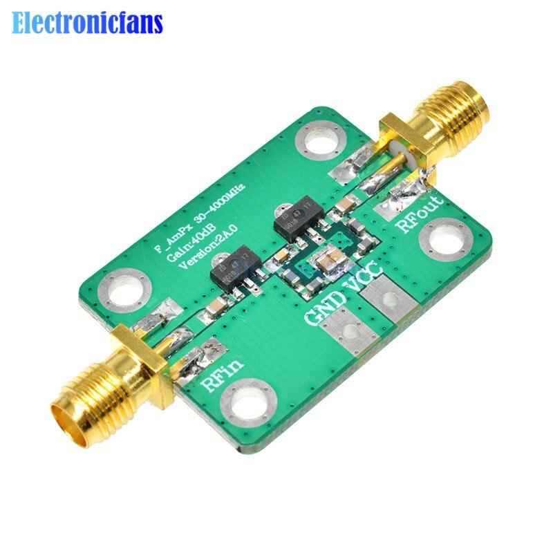 30-4000MHz 40dB Gain RF Broadband Amplifier Module for FM HF VHF/UHF 50Ω ubs High Frequency Amplifier Board Gain Module