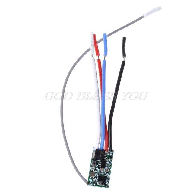 אור מתג מקלט מודול 5V 12V 24V 433Mhz אלחוטי שלט רחוק LED תאורת בקר RF משדר זרוק חינם