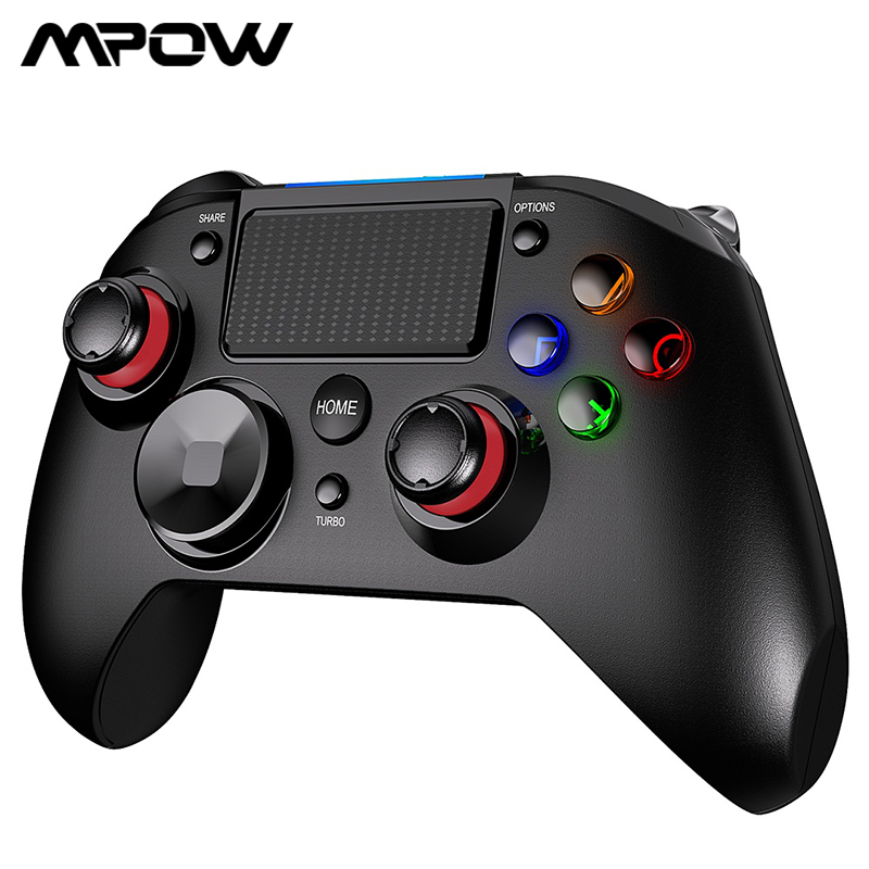 Mpow Bluetooth Wireless Pro Controller Joystick Game Controller PC263 Wireless Gamepad Joypad for Playstation 4 for Dualshock 4
