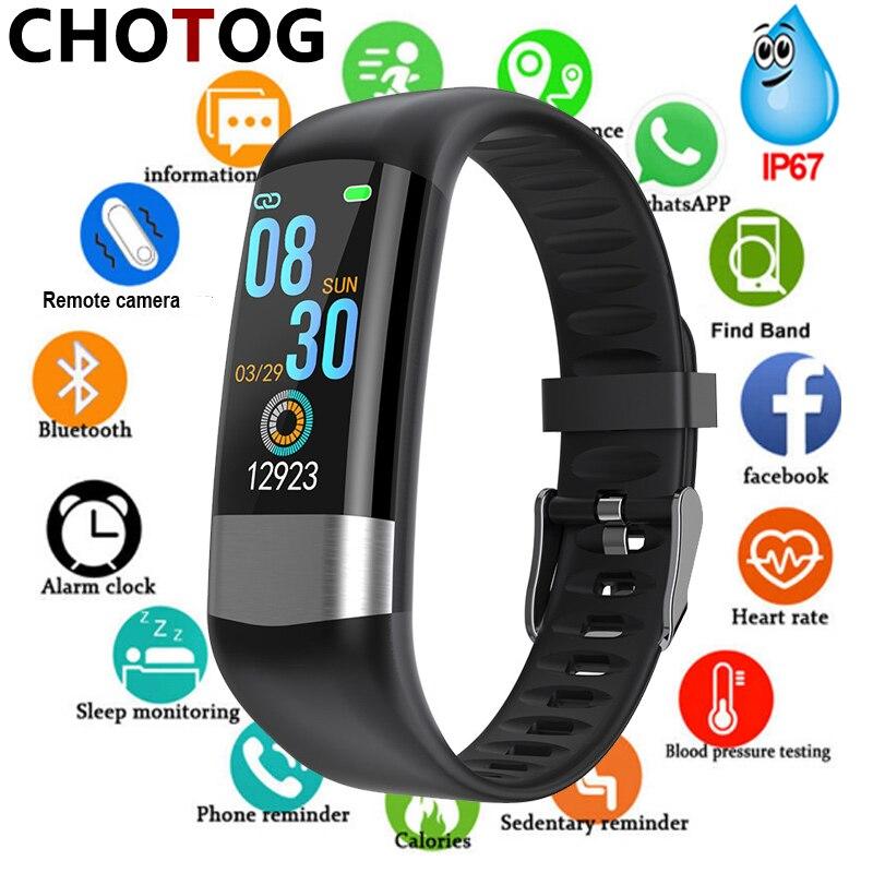 Smart Band Fitness Tracker Watch Ip67 Waterproof Pedometer Fitness Bracelet Women Men For Sport Smart Bracelet Blood Pressure|Smart Wristbands|   - AliExpress