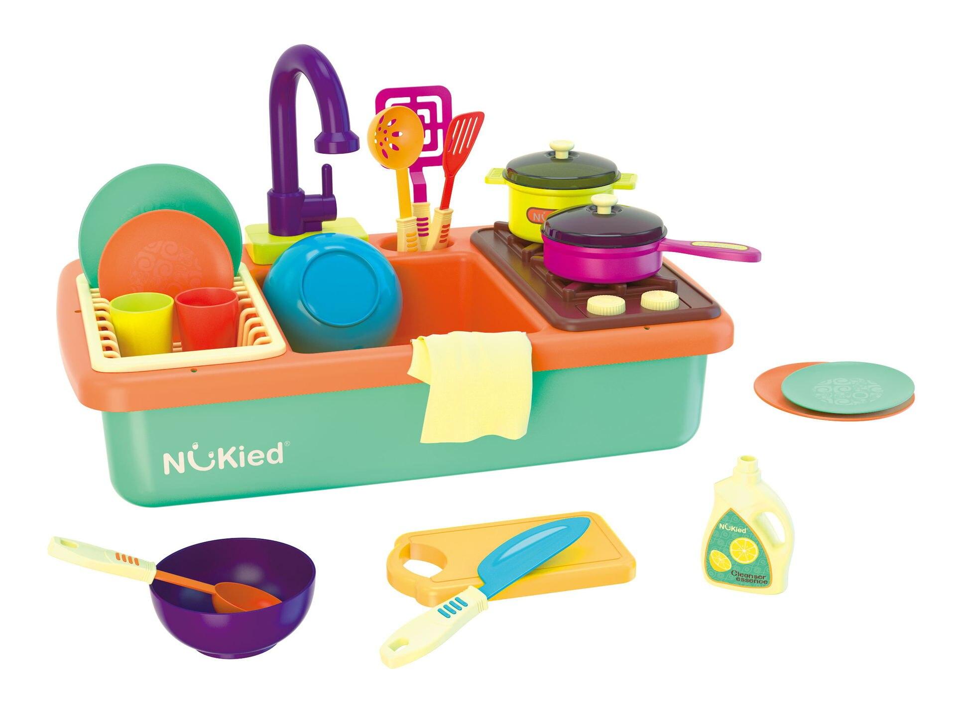 NUKied Dishpan игровой домик для кухни бассейн детский игровой набор с водой детская раковина