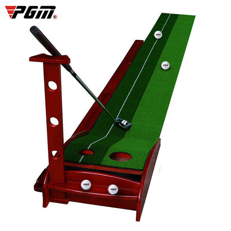 PGM Golf Putter Trainer Ball Return 3M/3.5M Solid Wood Base Putter Exercise Golf Practice Putting Equipment Golf Training Aids