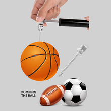 Mini pump basketball football volleyball aluminum ball needle portable high pressure bicycle gas inflatable tube