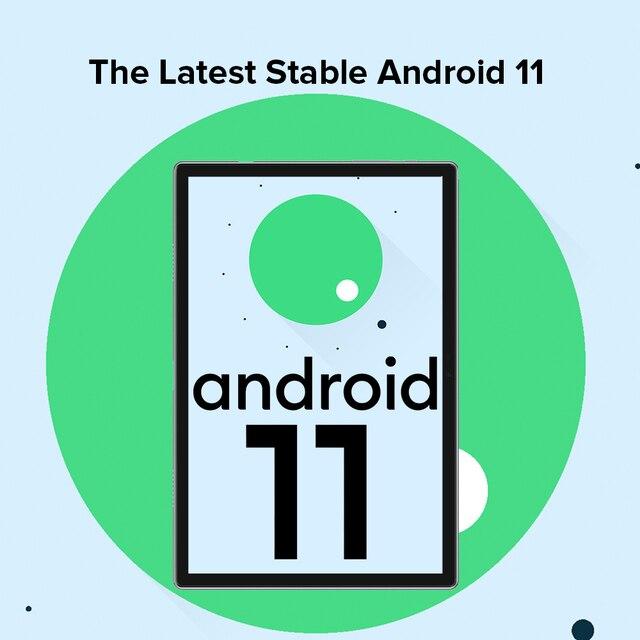 Ulefone Tab A7 Android 11 7680mAh Tablet PC 10.1 ''4G Network 4GB + 64GB Octa Core WIFI 1200*1920 Tablets 13MP Rear Camera 2