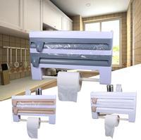 Storage Rack Cling Film Plastic Kitchen Kitchen Holder Holder Bottle Supply Useful|Racks & Holders| |  -