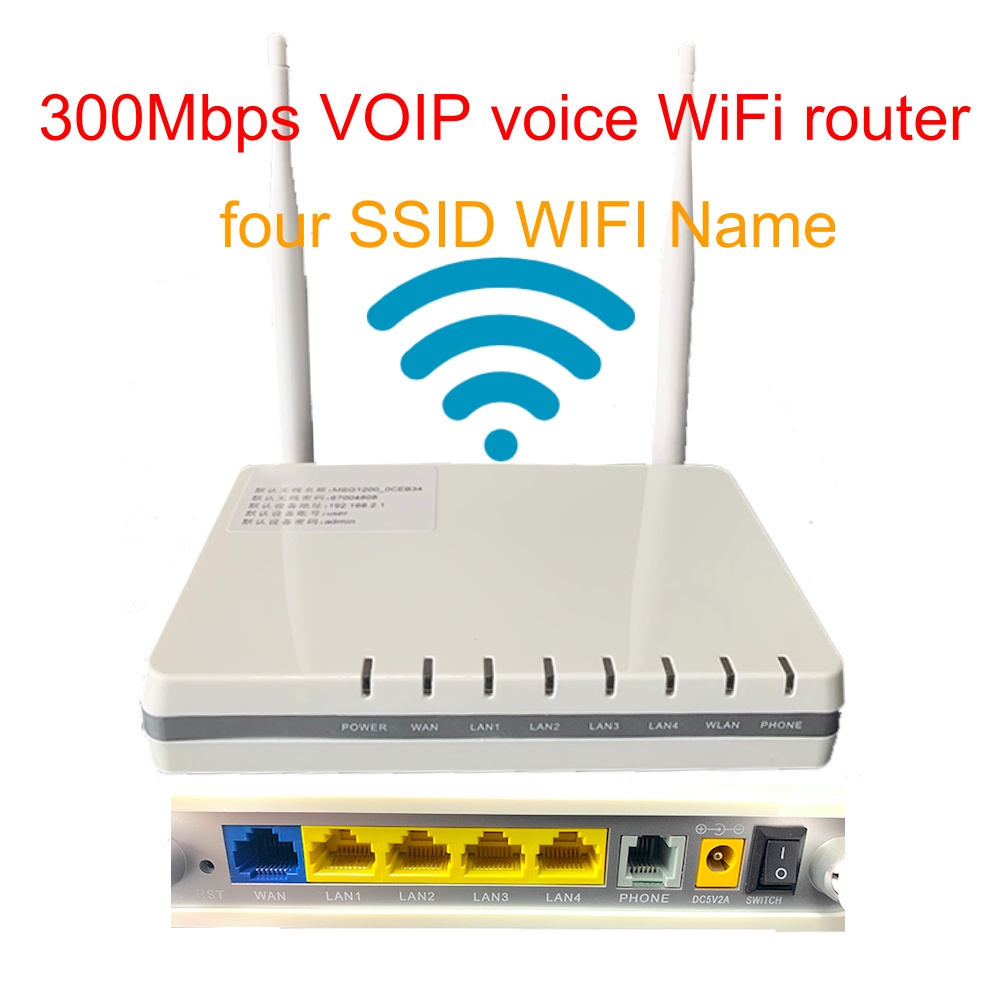 HUASIFEI cheapest voip phone wifi Router 300Mbps wireless Router Network Expander Repeater for VPN WPS WDS QoS IPv6 and 4 SSID
