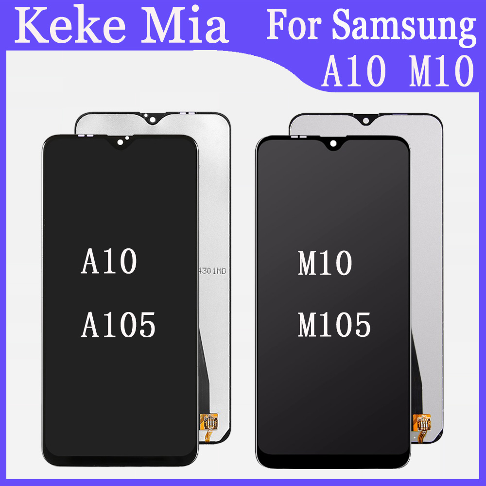 For <font><b>Samsung</b></font> A10 A105 SM-M105F Display <font><b>LCD</b></font> <font><b>Screen</b></font> Replacement For <font><b>Samsung</b></font> <font><b>M10</b></font> M105 SM-M105F Display <font><b>LCD</b></font> <font><b>Screen</b></font> Repair image
