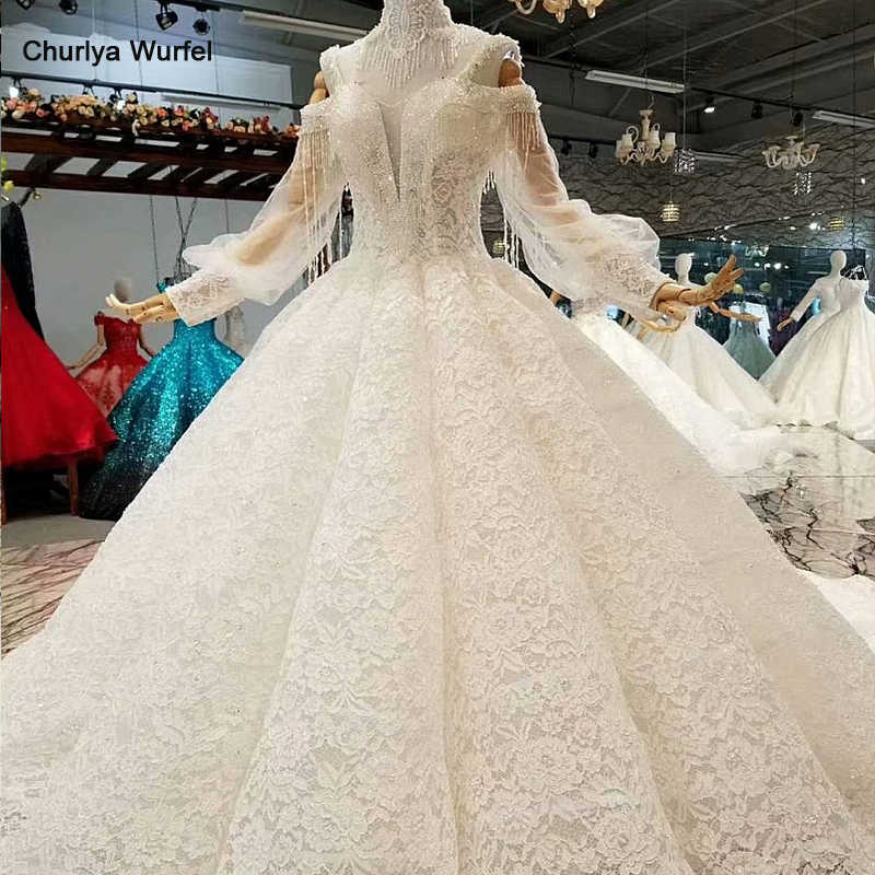 LS441100 free shipping wedding dress spaghetti straps long sleeves floor length cut-out wedding gown plus size can be customized
