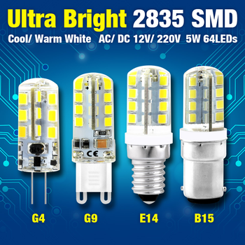 G4 LED Bulb SMD 2835 3w 4w 5w 7w 8w 9W G9 B15 LED Bombillas G4 light AC DC12V AC220V 360 Degree Replace Halogen led Lamp led image