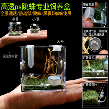 Bug Container Acrylic Insect Feeding Box Ant Farm Insect Cage Ant House Plastic Ecological Werkstatt Pet Products BY50KC
