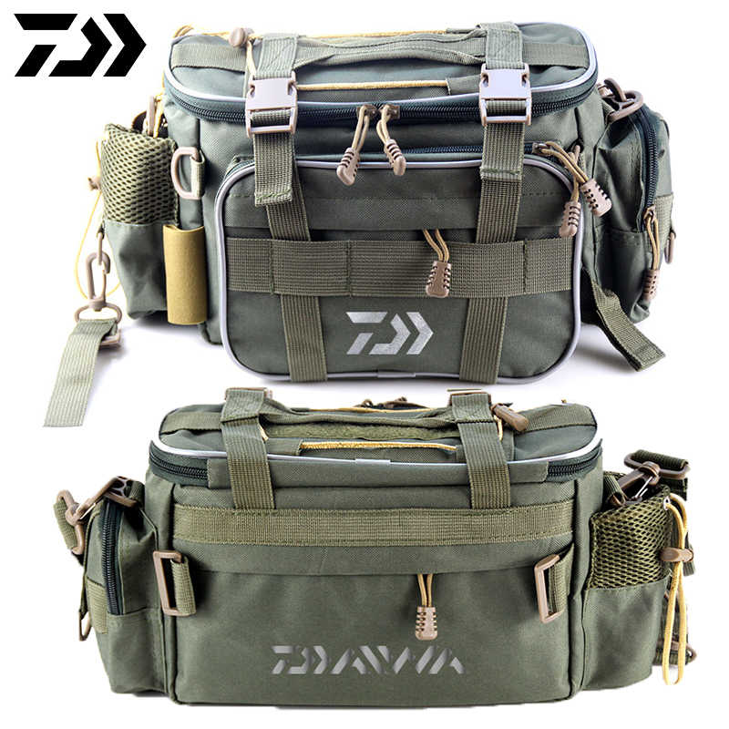 Bassdash Fishing Bait Tackle Box Waist Belt Carrier Lure Reel Container Bag New