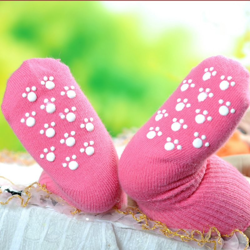 Non-slip Warm Baby Socks Girls Spring Cotton Socks Toddler Boy Girls Floor Socks Infant Clothing Accessories Anti Slip Sock