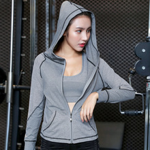 2019 Net red yoga jacket female begners professional sports tight long sleeve autumn casual fashion