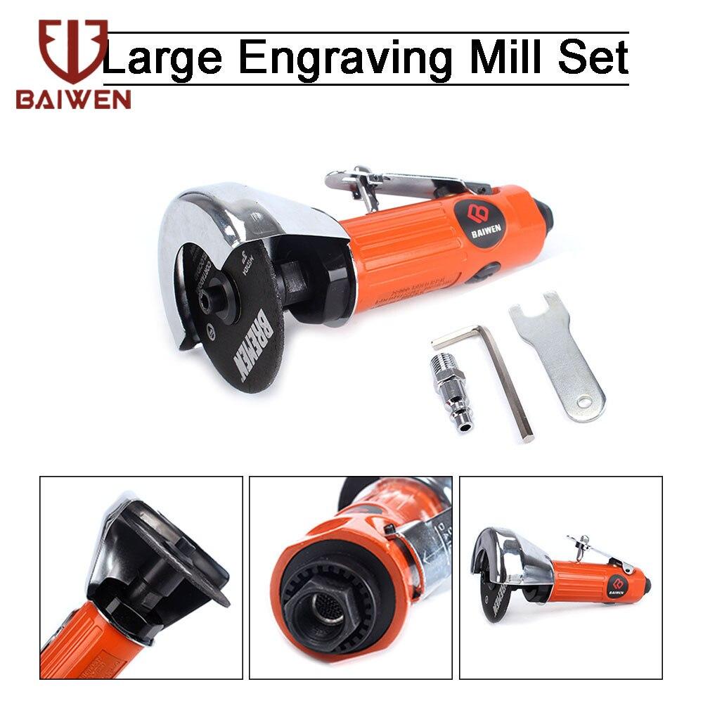 Mini Pneumatic Metal Cutting Machine High-Speed 3 inch Straight air cutter Cutting Tools For Cutting Metal