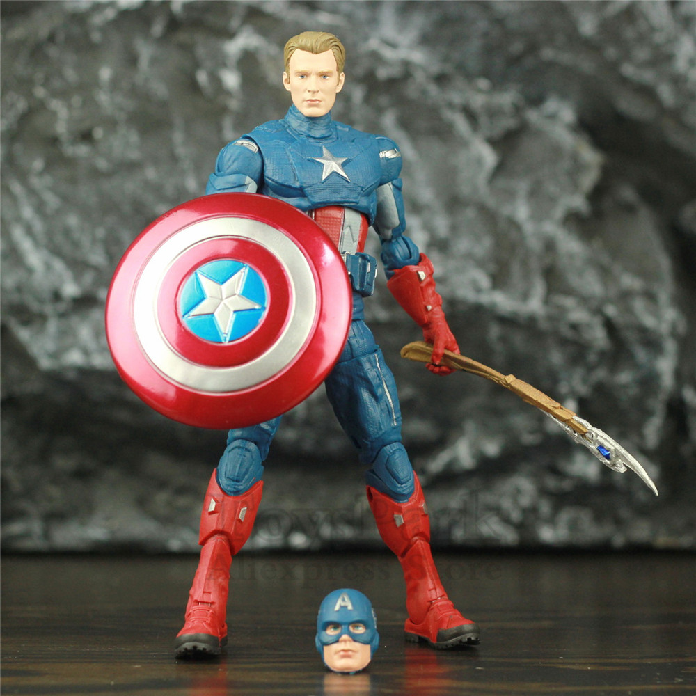 Marvel Legends Endgame Captain America Steve Rogers 6