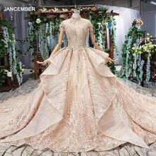 HTL509 luxe dubai avondjurken high hals hartvormige backless lace up crystal vrouwen gelegenheid avondjurk avond jurken