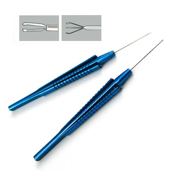 Titanium Capsulorhexis Forcep Virtreo-Retinal Instruments Ophthalmic surgical instruments 1pcs 1pc titanium forcep masket capsulorhexis forcep 95mm ophthalmic eye instrument