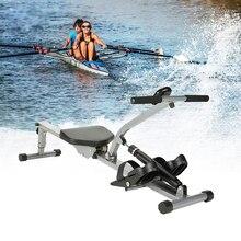 Гребная машина для домашнего спортзала, беззвучный Планер для тела, тренажер для брюшной груди, аэробные упражнения, оборудование для фитнеса в помещении