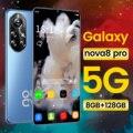 Global Version Nova8 Pro 6.8Inch Smartphone 6500mAh 8+256GB Dual SIM Dual Standby Support Face ID Wifi GPS 4G LTE 5G Mobilephone