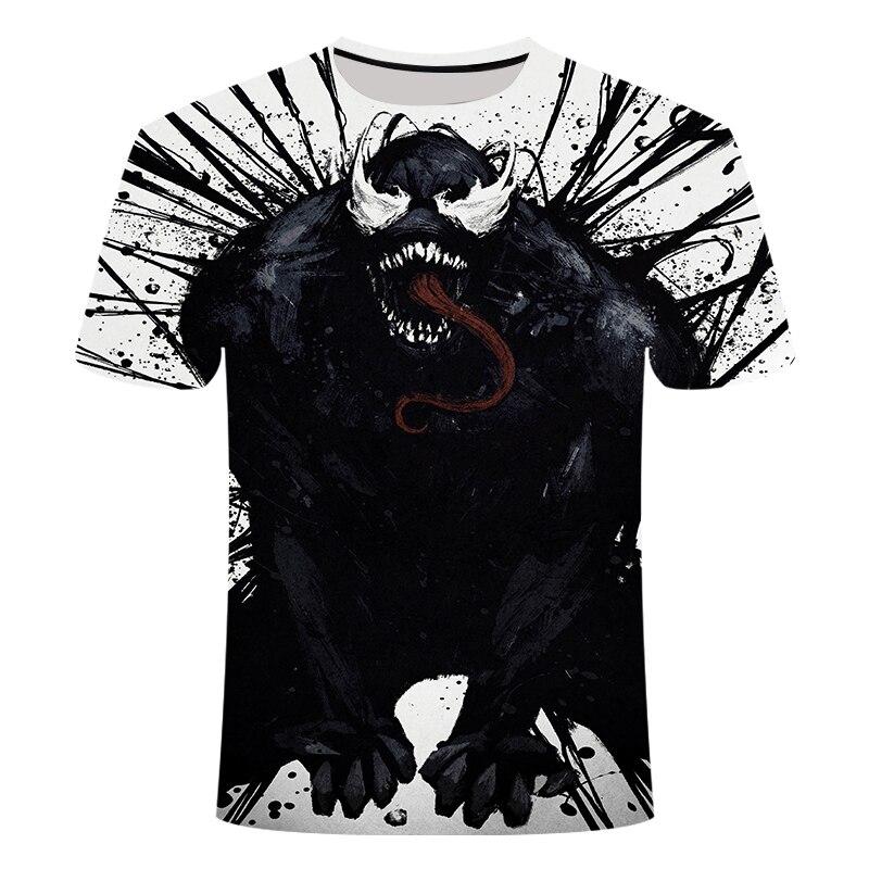 "Новинка, Мужская Футболка Venom, футболка ""Марвел"", 3D принт, футболка s, мужская, женская, Повседневная футболка, футболка для фитнеса, футболки, топы - Цвет: TX-033"