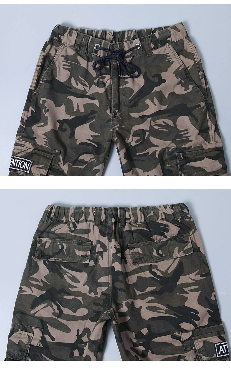 KSTUN Cargo Pants Men Camouflage Harem Joggers Men's Causal Hip Hop Trousers Drawstring Sweatpants Male Large Size Pants Good Quality 24
