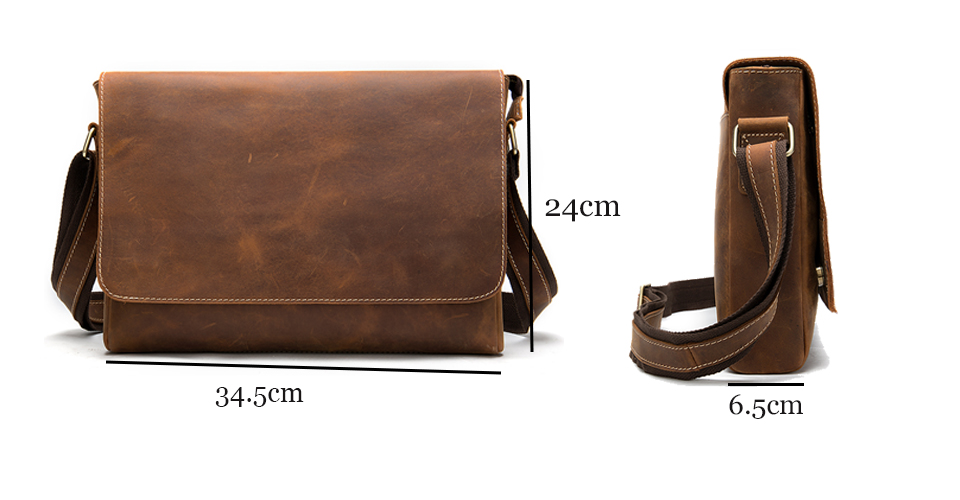 Ha05441aa8ecb4e5abf3cc1e01fc850d7O WESTAL Men's Briefcases Laptop Bag Leather Lawyer/office Bags Messenger Bags Men's Crazy Horse Leather Briefcases Business Bag