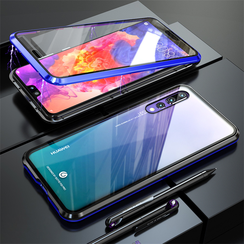 <font><b>Full</b></font> Protective Magnetic <font><b>Case</b></font> For <font><b>Huawei</b></font> Nova 6 5i Honor 20S 10i <font><b>10</b></font> 9X P20 P30 <font><b>Mate</b></font> 20 30 <font><b>Lite</b></font> Pro P Smart Z Y9 Prime 2019 <font><b>Cover</b></font> image