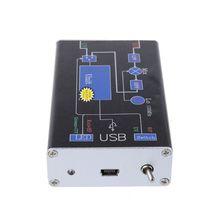 1Set 100 KHz 1.7 GHz Banda VHF UHF Completa RTL. SDR + UpConverter SDR USB Receptor Sintonizador Q39D