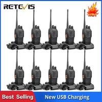 מכשיר הקשר 10 PCS Retevis H777 רדיו מכשיר הקשר 5W UHF400-470MHz 16CH Ham Radio Portable A9105A משדר Hf Comunicador רדיו שני הדרך (1)