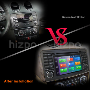 Image 5 - 2din 7player android 10 octa núcleo leitor de dvd do carro para mercedes/benz/ml/gl classe w164 ml350 ml500 gl320 dsp ips rds wifi 4g dab canbus