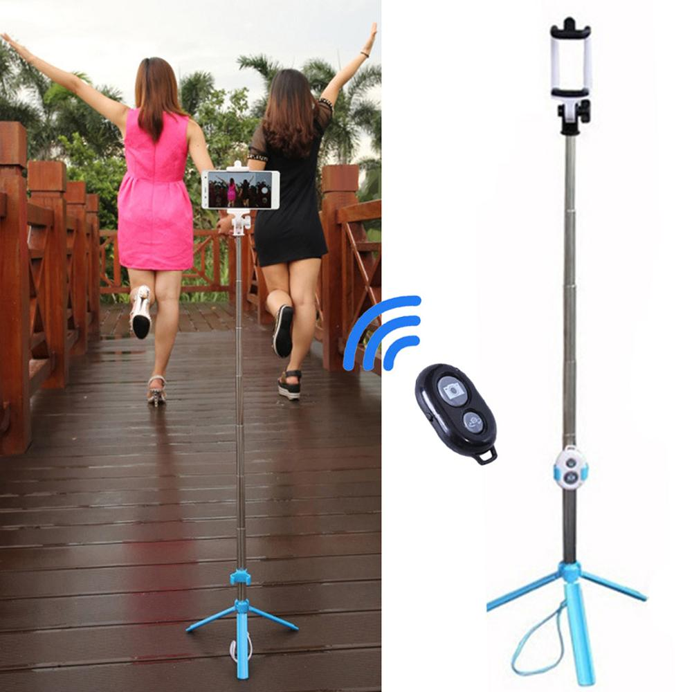 Handheld & Tripod 2-in-1 Extendable Bluetooth Selfie Stick for iPhone 8 11 7 6 6S 6Plus 5S Android Samsung Galaxy S6 S5 Note 10