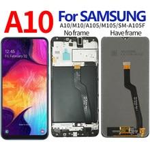 Wyświetlacz LCD do SAMSUNG A10 wyświetlacz LCD z ekranem dotykowym do Samsung Galaxy A10 M10 LCD M105 A105/DS A105 LCD