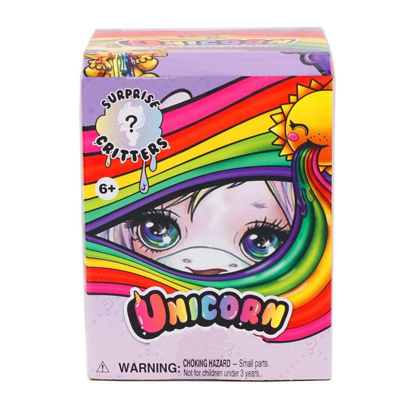 Toy Doll Unicorn Crystal Poopsie Slime Rainbow Childrens Decompression Soft Clay Mud