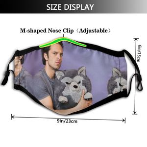 Image 2 - Winter Soldier Mouth Face Mask Sebastian Stan And Friend Facial Mask Funny Fashion with 2 Filters for Adult