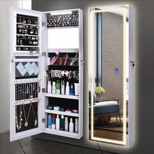 Зеркало для одевания для дома женщин с настенное зеркало навесное на земле приемный шкаф спальня простое современное тестовое зеркало