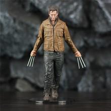Custom Marvel X MEN Wolverine Logan 7 Mcfarlane Style Movie Action Figure Claws Hugh Michael Jackman Film X-MEN Legends Toys x men