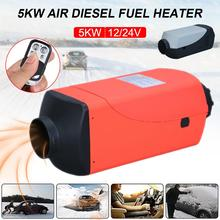 Car Heater Air Diesels Heater Parking Heater 5KW 12V 24V Car Auxiliary Heater Remote Control Car Heater For Trailer Trucks Boat