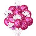 10 шт. розовый 1st праздничных воздушных шаров