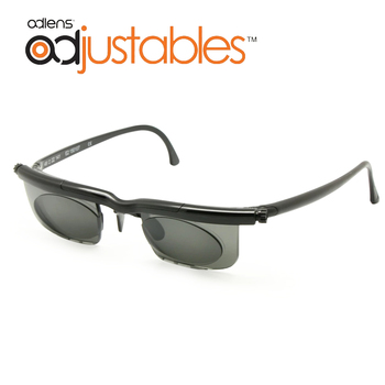Adlens Sundials Frame Tinted Optical Sunglasses Variable Strength -6D to +3D Myopia Magnifying Anti-UVA/UVB Focus Adjustable image