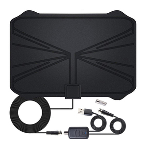 Image 2 - 4K Digital HDTV Aerial Indoor Amplified  Antenna 1180 Miles Range HD1080P DVB T2 Freeview TV