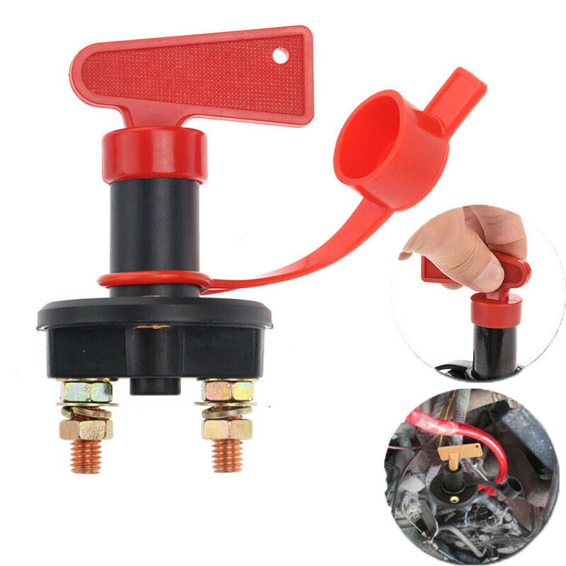 2pc Battery Isolator Disconnect Cut OFF Power Kill Switch for Marine Car RV Boat