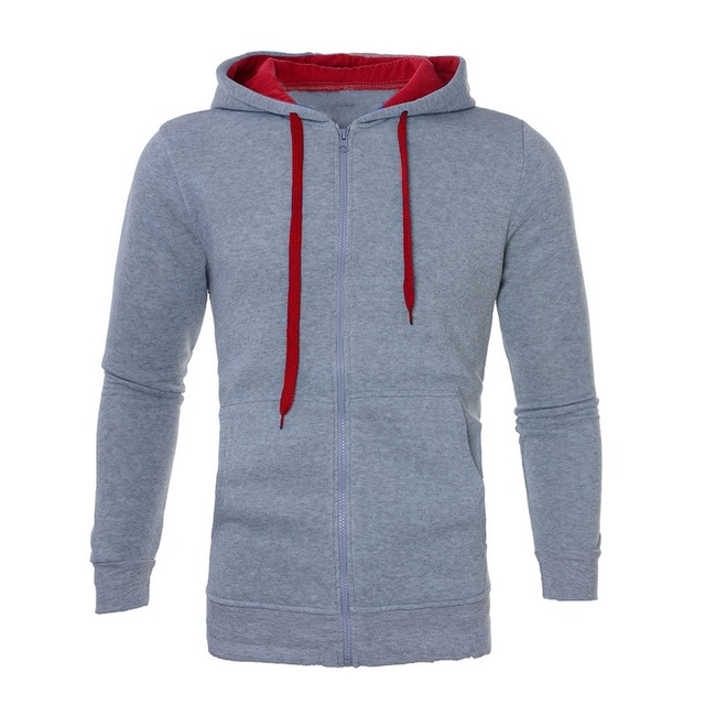 Casual Hoodies Tracksuits Solid 2 Piece Men Set Autumn Lace Up Hooded Jacket Sweatshirt Drawstring Pants Mens Sportwear Suits
