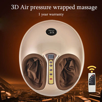 Electric Foot Massager Pedicure Machine for Personal Health Care Air Pressure Shiatsu Scraping Feet massager with Heating