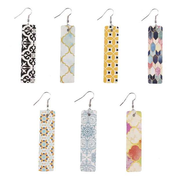 E6995 ZWPON Paisley Pattern Leather Vertical Bar Earrings 2020 Spain New Beometric Large Leather Rectangle Earrings.jpg 640x640 - E6995 ZWPON Paisley Pattern Leather Vertical Bar Earrings 2020 Spain New Beometric Large Leather Rectangle Earrings Jewelry