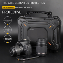 Outdoor Hunting Gun Safety Case with Foam Padded Camera Protective Case Waterproof Tactical Gun Pistol Hard Shell Box waterproof injection mould plastic hard trolley case with foam inserts