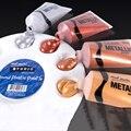 ชุดสีอะคริลิค 50ml ทองเงินทองแดงอะคริลิคภาพวาด DIY กันน้ำ 4 sticks
