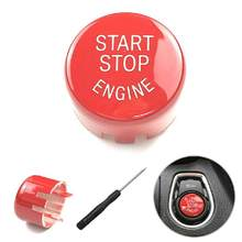 Start Stop Engine Switch Button Cover For BMW F20 F30 F10 F01 F25 F26 Car Accessories Interior Car Gadget Tuning Car Universal(China)